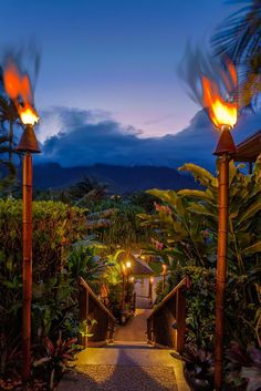 We've never met a tiki party we didn't like. Escape the every day. #Jetsetter Paradise Bay Resort (Kaneohe, Hawaii)
