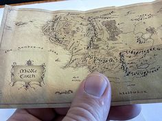The Lord of the rings Middle earth Map 1: 6 Action by DioramaShop