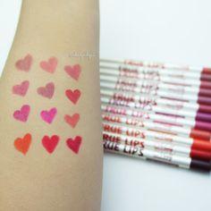 12 lip liners from www.beautybigbang.com  #beautybigbang #lipliner #lipmakeu #cosmetics Makeup Tools, Lip Liner, Bigbang, Make Up, Cosmetics, Beauty, Shopping, Lip Pencil, Makeup
