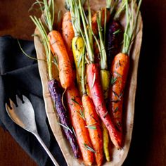 Rosemary Roasted Carrots #HealthyAperture