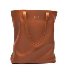Leather Tote (Tall) Caramel | $150  (clearly, I'm obsessed)