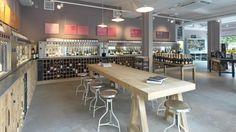 Fresh, modern liquor store design in London