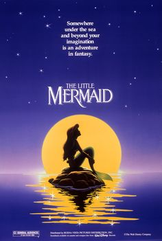 THE LITTLE MERMAID (1989)!!!!!!! <3 <3 <3 BEST MOVIE + PLAY EVER! EVER! EVER! AMAZING MUSIC! PERFECT!!!! <3