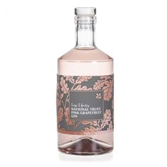 gin National Trust Pink Grapefruit Gin How Do I Get My Child to Be Polite? Parents often ask me ques Wine Label Design, Bottle Design, Gin Bottles, Vodka Bottle, Pink Grapefruit Gin, Perfume, Bottle Packaging, Brand Packaging, Design Package