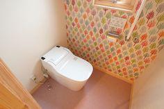 1階トイレの壁紙クロス決定/リリカラ「LW-7922」 スウェーデンハウスで学ぶマイホームの基礎知識
