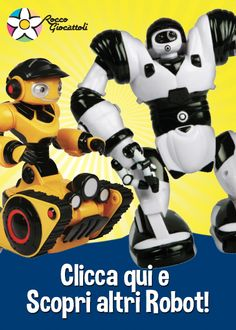 #idearegalo #giochi #robot #bambino http://shop.roccogiocattoli.eu/giocattoli-per-bambino/robot.html