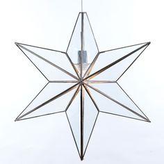 Design Belysning AS - Rafael Glasstjerne Stor Sølv