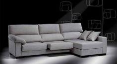 Sofá César de la colección Confort con almohadones desenfundables.  • También disponible en chaise longue.  • 110x90x100 cm. / 160x90x100 cm. / 200x90x100 cm. / Se puede añadir chaise longue (otras medidas).  • Disponible en diferentes telas.