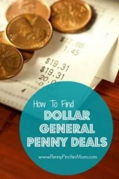 Learn how to identify penny deals at Dollar General! #dollargeneral #savingmoney