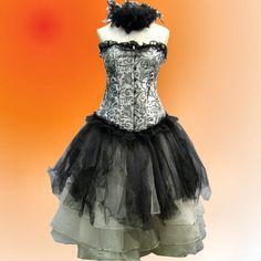 2e4ebe5e9d5 Gothic Ragamuffin Corset Costume.  200.00