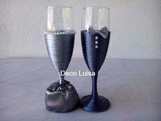 Deco Luisa: Copas de novios, bodas de plata y bodas de oro