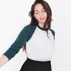 Camisa de t das mulheres da American Apparel Patchwork Tee camisetas femininas ropa mujer mujer camisetas camisetas tops