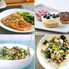 Maple Mustard Baked Salmon & Baked Coconut Cream Cheesecakes  Delicious Links