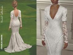 The Sims 4 Charlie Wedding Dress Air Max 97, Nike Air Max, The Sims 4 Pc, Sims Cc, Sims 4 Wedding Dress, Wedding Dresses, Jeffree Star, Saint Laurent, Sims 4 Dresses
