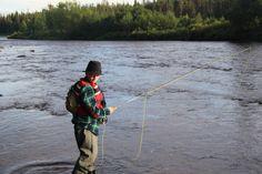 Fishing with Naamisuvanto in Tornionjoki in Lapland