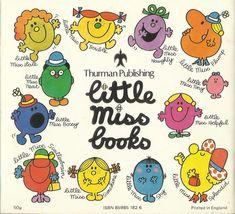 Little Miss Books, Mr Men Little Miss, Little Bit, So Little Time, 1980s Childhood, My Childhood Memories, Best Memories, Little Miss Sunshine, 90s Nostalgia