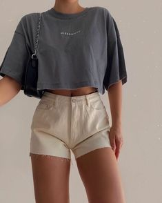 Teen Fashion Outfits, Mode Outfits, Look Fashion, Girl Outfits, Summer Outfits, Cute Casual Outfits, Simple Outfits, Stylish Outfits, Mode Ulzzang