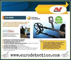 ¡¡El detector todo-terreno y a prueba de agua CTX 3030 de Minelab lo tienes en www.eurodetection.com !! #Minelab #Eurodetection #MinelabCTX3030 #DetectorMetal #Hobby #MetalDetecting