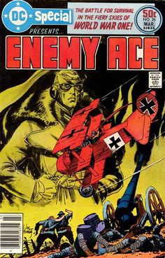 Enemy Ace – 37 points (1 first place vote).
