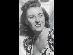 """Wistful love song from the 1930 Schwartz/Dietz show """"Three's a Crowd"""".Vera Lynn with Jay Wilbur and his Band.London, TO REME. Vera Lynn, Something To Remember, Human Connection, Him Band, Day For Night, Golden Girls, Wedding Night, 1940s Fashion, Female Singers"""