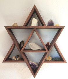 25 Geometric wooden shelf design ideas – ✪ home DECORATION ✪ - Bathroom Ideas