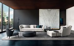 Minotti recently released some beautiful inspirational imagery of two of  their sofas The Yang and The Seymour.