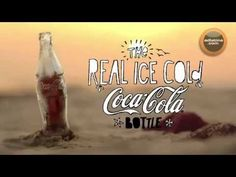 The real ice cold Coca-Cola Bottle >>> Bottle is actually made of ice!  >>> Ogilvy & Mather Colombia