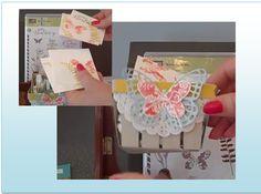 Springtime Berry Basket - Video tutorial on link :) Berry Basket, Butterfly Thinlit, Butterfly Basics, Stampin Up