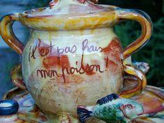 """merci gaspard ! Poterie dite """" Epicerie """" Poterie de Cliousclat en Drôme Provençale photo by merci gaspard!"""