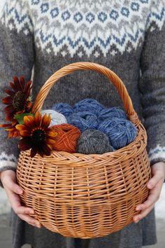 Riddari knitalong 1 – Material och inspiration