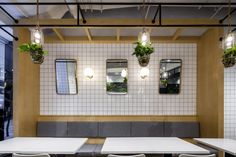 Salad Press restaurant by The Swimming Pool Studio, Shanghai – China » Retail Design Blog