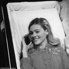 Coffin call? Next year, the Bates Motel beauty will play Chrissy Monroe in Hulu's pilot, When the Street Lights Go On