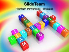 business strategy execution powerpoint templates team motivate success image ppt slide Slide01