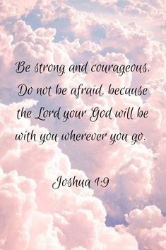 This pin was discovered by jane ward. Inspirational Bible Quotes, Bible Verses Quotes, Bible Scriptures, Faith Quotes, Positive Quotes, Joshua Bible, Worry Quotes, Bible Verses About Strength, Prayer Verses