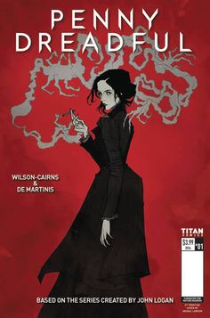 Chances are if you are a longtime Haute Macabre reader, you require no introduction to the charmingly spooky, gothic art of Abigail Larson. Comic Book Covers, Comic Books Art, Showtime Tv Series, Penny Dreadful Tv Series, Penny Dreadfull, Estilo Dark, Abigail Larson, Bd Comics, City Of Angels