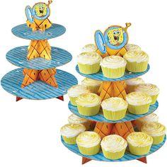 Cupcake Stand - Spongebob Squarepants- Holds 24