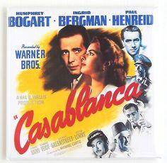 Casablanca by Cinema Greats. Massive range of art prints. Quality UK framing & Money Back Guarantee! Casablanca Movie, Casablanca 1942, Paul Henreid, Gold Movie, Peter Lorre, Humphrey Bogart, Warner Bros, Cinema, Ebay