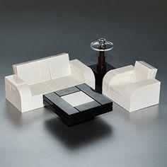 LEGO Furniture: Seating Set (White) w/ Couch, Chair & Tables & Lamp Interior Bricks http://www.amazon.com/dp/B00B52CMMG/ref=cm_sw_r_pi_dp_.Gp0ub12KQFKM