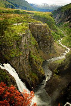 Vøringsfossen, Norway (by Madhumitha Vasudevan)