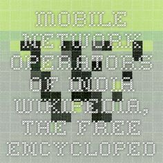 Mobile network operators of India - Wikipedia, the free encyclopedia