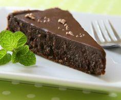 Ricetta Torta di cioccolato fondente