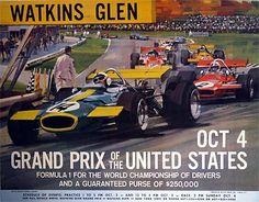 watkins glen race track | Watkins Glen poster