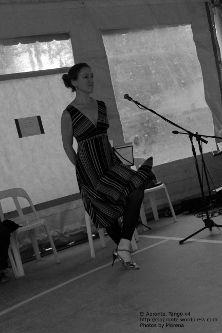 5a Feria del Libro de Río Ceballos, presentación del libro Historias que nos Siembran, de Lilah Ríos.  Marilú... la vi pasar, bailando altanera...