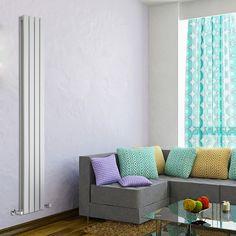 Delta dubbelpaneel design radiator - 1780mm x 280mm - 1646 Watt - Wit - Image 1