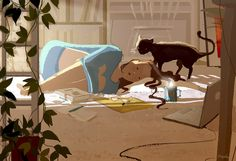 It's been a long week. #pascalcampion #sleepytired
