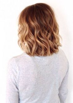 short dark blonde ombre. In love with this!