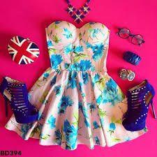 bustier dress tumblr ile ilgili görsel sonucu