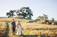 DIY Wedding at Santa Margaria Ranch: Sarah & Travis' Homey DIY Wedding