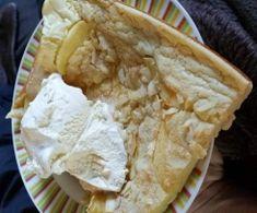 Apfel Zimt Blechpfannkuchen