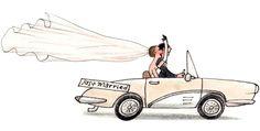 2 voitures pour épater les invités à votre arrivée - Invités - My Little Wedding
